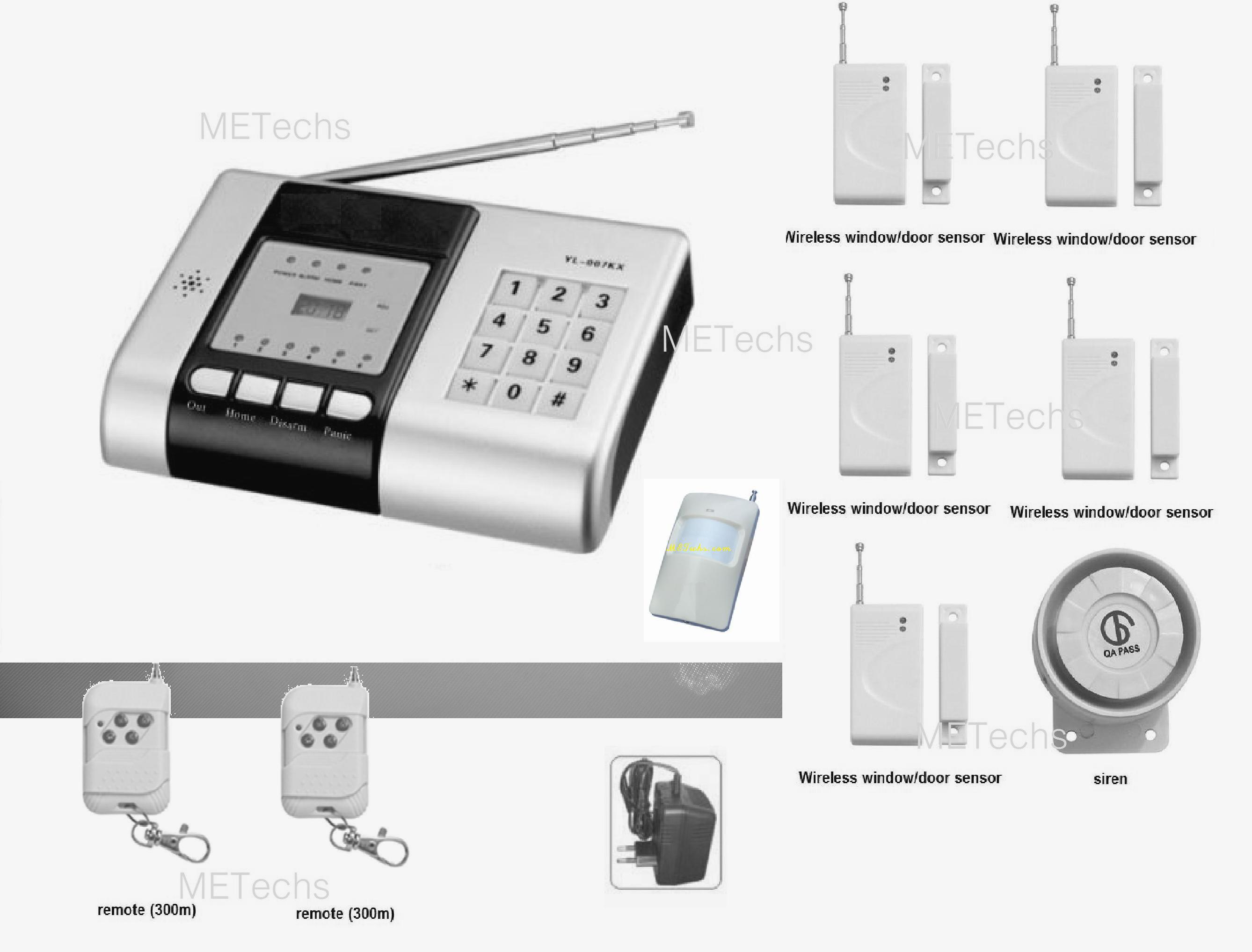Python 5904p Responder Hd 2way Security System With Remote